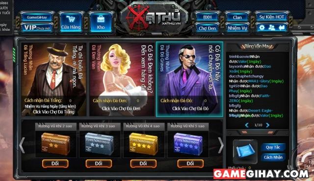 chợ đen game xạ thủ