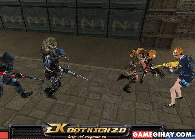 Một cảnh trong game đột kích