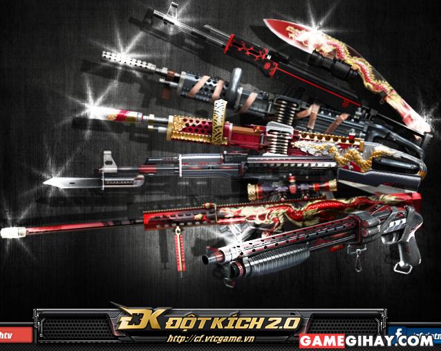 Game đột kích có hệ thống vũ khí đa dạng