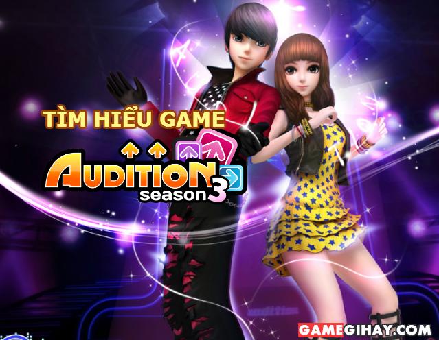 Tìm hiểu game nhảy audition