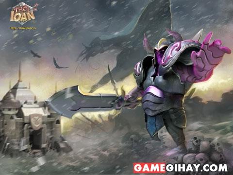 kỵ sĩ trong game thời loạn