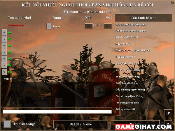 giới thiệu cốt truyện game đế chế