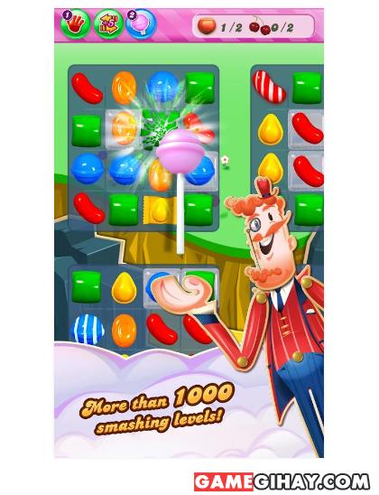 Tải game hoa quả Candy Crush Saga cho Android + Hình 4