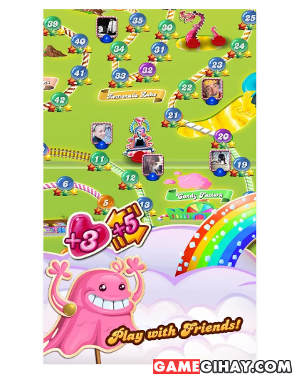 Tải game hoa quả Candy Crush Saga cho Android + Hình 5