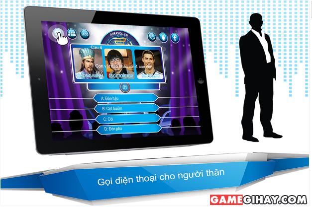 Tải game trực tuyến Ai là triệu phú cho điện thoại Android + Hình 3