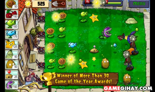 Tải trò chơi Plants vs Zombies cho điện thoại Android + Hình 2