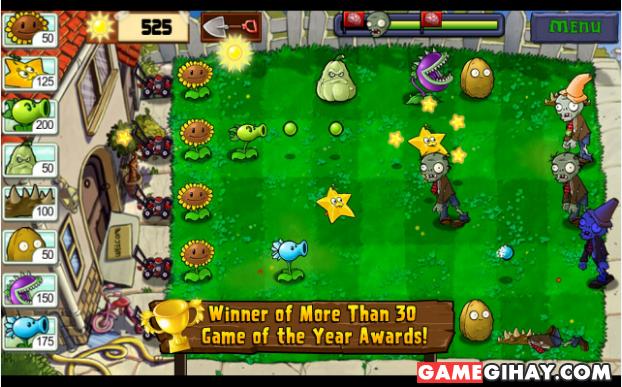 Tải trò chơi Plants vs Zombies cho điện thoại Android + Hình 5