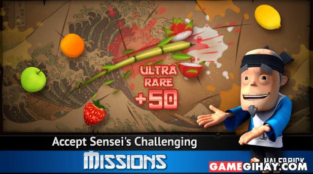 Tải trò chơi chém hoa quả Fruit Ninja THD cho Android + Hình 2
