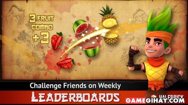 Tải trò chơi chém hoa quả Fruit Ninja THD cho Android + Hình 4