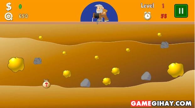 Tải Gold Miner - Game Đào vàng cho điện thoại Android + Hình 2