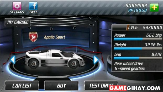 Tải Drag Racing - Trò chơi đua xe tốc độ cao cho Android + Hình 4