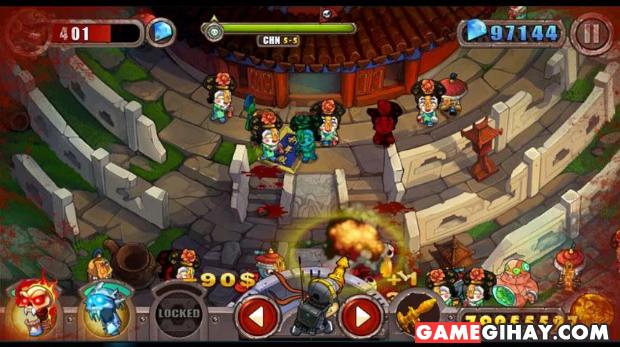 Tải và cài đặt game Zombie cho điện thoại chạy Android + Hình 4