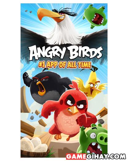 Tải trò chơi bầy chim nổi giận - Angry Birds cho Android + Hình 2