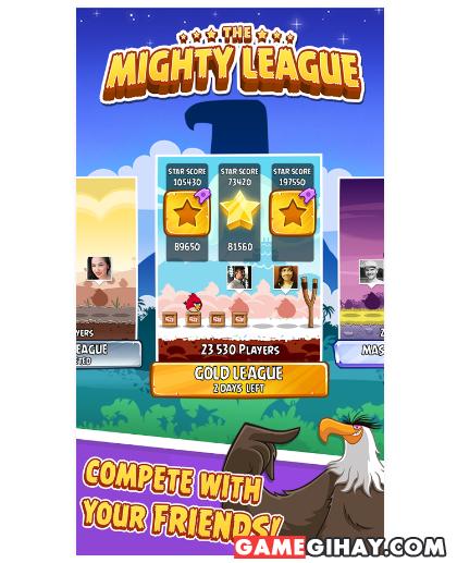 Tải trò chơi bầy chim nổi giận - Angry Birds cho Android + Hình 3