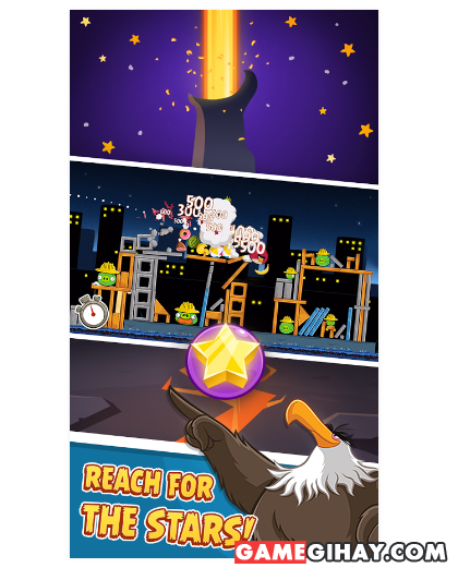 Tải trò chơi bầy chim nổi giận - Angry Birds cho Android + Hình 4
