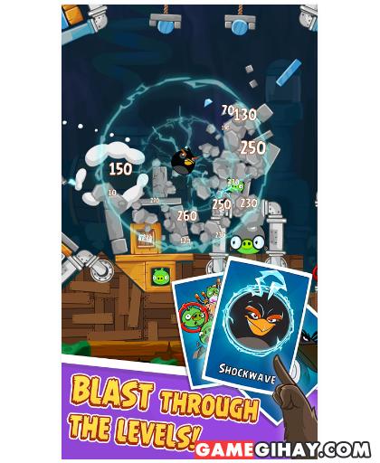 Tải trò chơi bầy chim nổi giận - Angry Birds cho Android + Hình 5