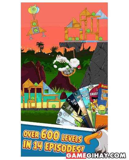 Tải trò chơi bầy chim nổi giận - Angry Birds cho Android + Hình 6