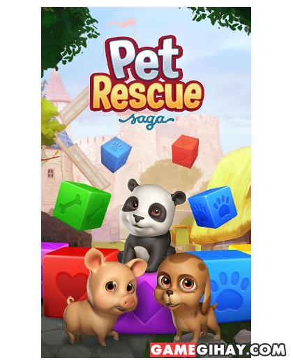 Tải Pet Rescue Saga - Trò chơi giải cứu động vật cho Android + Hình 2