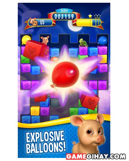 Tải Pet Rescue Saga - Trò chơi giải cứu động vật cho Android + Hình 5