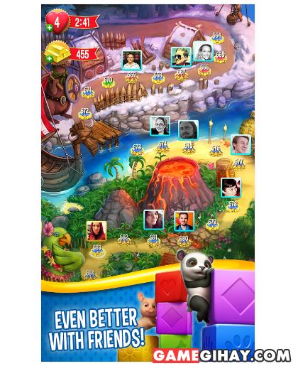Tải Pet Rescue Saga - Trò chơi giải cứu động vật cho Android + Hình 6