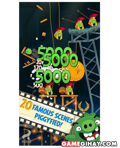 Tải Angry Birds Seasons - Trò chơi đàn chim nổi giận trên Android + Hình 3