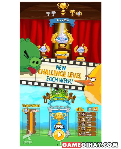 Tải Angry Birds Seasons - Trò chơi đàn chim nổi giận trên Android + Hình 5