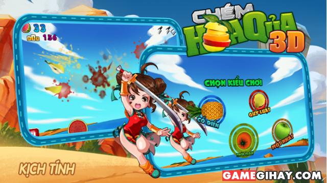 Tải game chém hoa quả Fruit Ninja cho điện thoại iPhone và iPad + Hình 3
