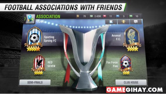 Tải game bóng đá Top Eleven cho điện thoại iPhone và iPad + Hình 2