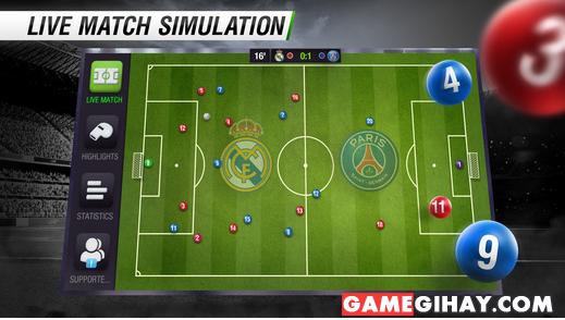 Tải game bóng đá Top Eleven cho điện thoại iPhone và iPad + Hình 6
