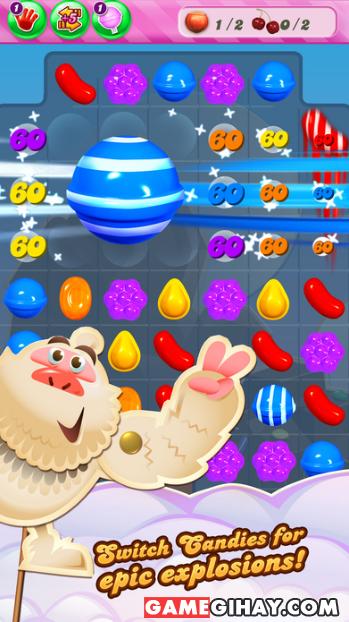 Tải game kẹo ngọt Candy Crush Saga cho iPhone và iPad + Hình 3