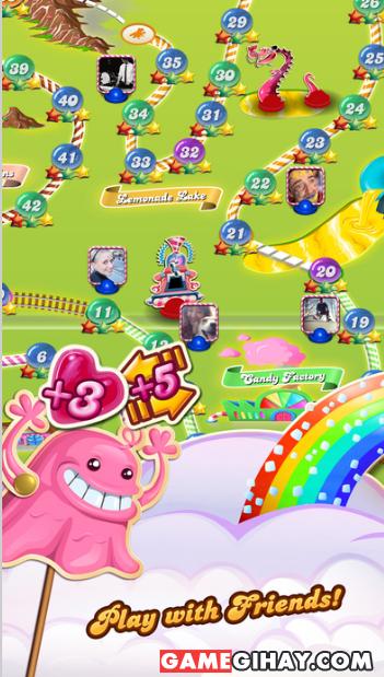 Tải game kẹo ngọt Candy Crush Saga cho iPhone và iPad + Hình 5