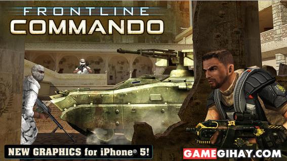 Tải game bắn súng Frontline Commando cho iPhone và iPad + Hình 2