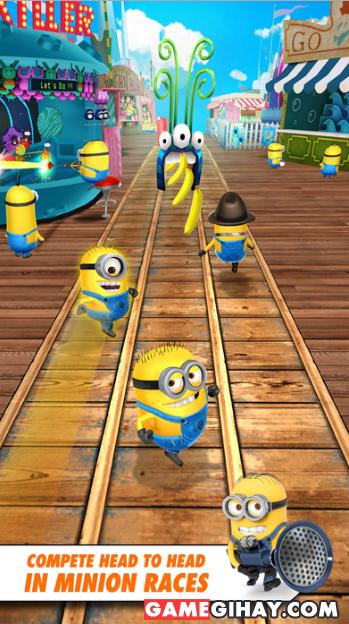 Tải game kẻ đánh cắp mặt trăng Despicable Me: Minion Rush cho iPhone + Hình 2
