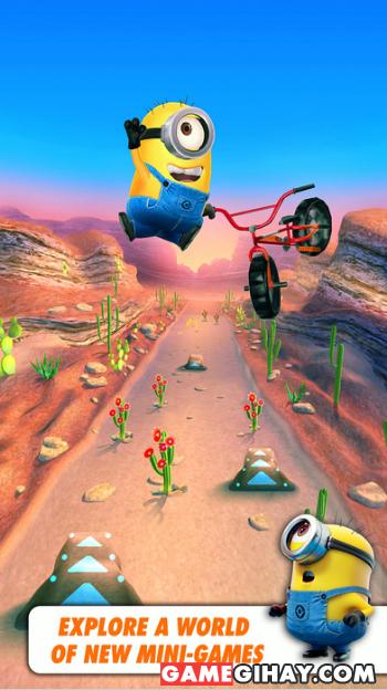 Tải game kẻ đánh cắp mặt trăng Despicable Me: Minion Rush cho iPhone + Hình 3