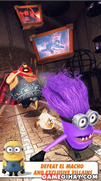 Tải game kẻ đánh cắp mặt trăng Despicable Me: Minion Rush cho iPhone + Hình 5