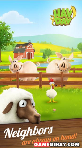 Tải game nông trại Hay Day cho điện thoại iPhone và iPad + Hình 2