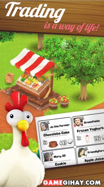 Tải game nông trại Hay Day cho điện thoại iPhone và iPad + Hình 3