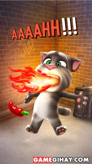 Tải game mèo nhại tiếng người Talking Tom Cat cho iPhone, iPad + Hình 2