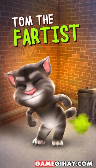 Tải game mèo nhại tiếng người Talking Tom Cat cho iPhone, iPad + Hình 3