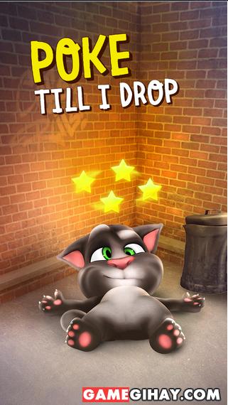 Tải game mèo nhại tiếng người Talking Tom Cat cho iPhone, iPad + Hình 5