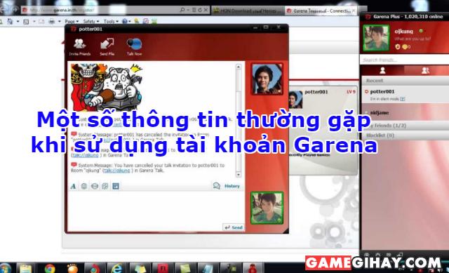 Một số thông tin thường gặp khi sử dụng tài khoản Garena + Hình 1