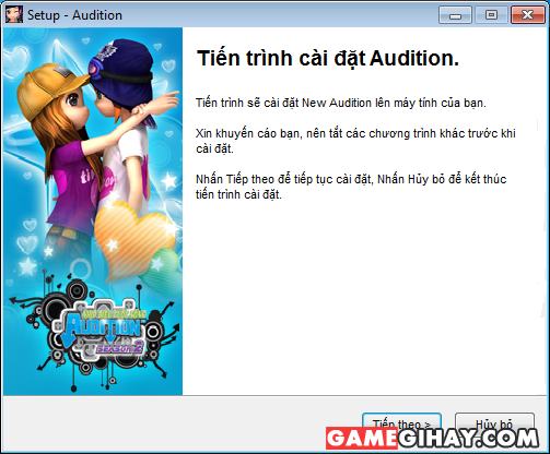 Cách cài đặt game New Audition cho máy tính Windows + Hình 7