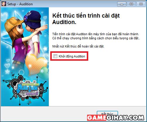 Cách cài đặt game New Audition cho máy tính Windows + Hình 11