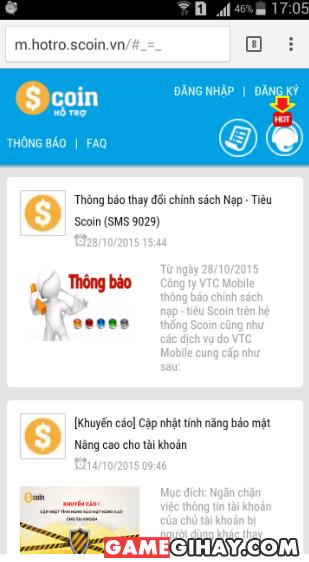 Các bước gửi yêu cầu hỗ trợ trên điện thoại di động + Hình 2