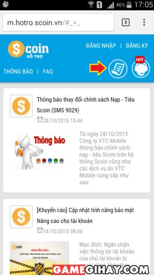 Các bước gửi yêu cầu hỗ trợ trên điện thoại di động + Hình 3