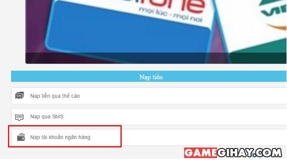 Các bước sử dụng ví Scoin để nạp tiền vào Game + Hình 3