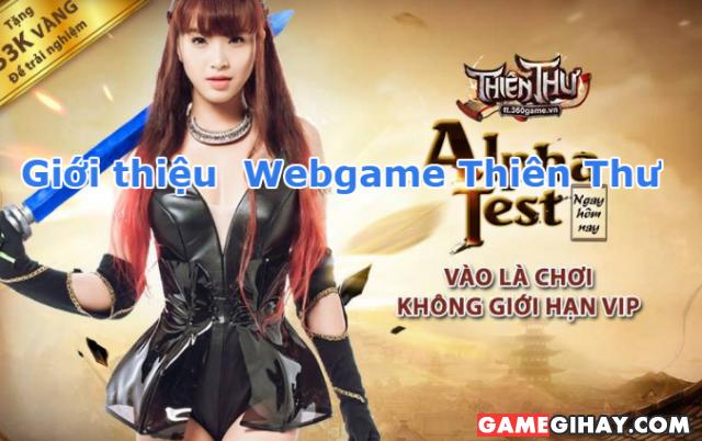 Tìm hiểu Webgame Thiên Thư