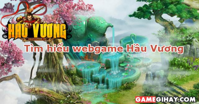 Giới thiệu webgame nhập vai Hầu Vương