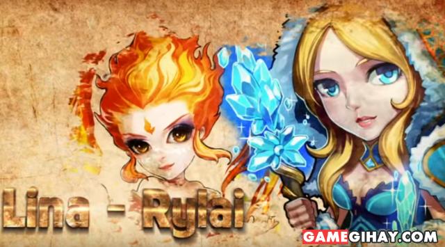 Giới thiệu game mobile online Chiến thần DotA + Hình 4