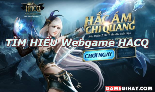 Giới thiệu Webgame 3D Hắc Ám Chi Quang